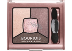 Bourjois Smoky Stories Quad Eyeshadow Palette oční stíny 02 Over Rose 3,2 g