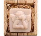 Bohemia Gifts Anjel ručne vyrábané toaletné mydlo v krabičke 80 g