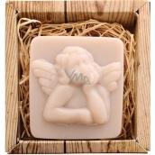 Bohemia Gifts & Cosmetics Anjel ručne vyrábané toaletné mydlo v krabičke 80 g