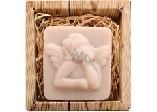 Bohemia Gifts & Cosmetics Natur Anděl ručně vyráběné toaletní mýdlo v krabičce 80 g