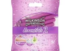 Wilkinson Essentials 2 jednorázový holící strojek 2 břity 5 kusů