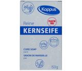 Kappus Kernseife Reine univerzálne čisté tvrdé biele mydlo vyrobené z prírodných látok 150 g
