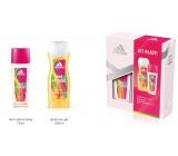 Adidas Get Ready! for Her parfumovaný deodorant sklo 75 ml + sprchový gél 250 ml, kozmetická sada