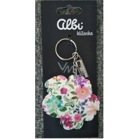Albi Original Kľúčenka PVC Hortenzie 11 cm