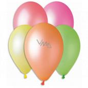 Balóniky Neónové mix farieb 26 cm 10 kusov