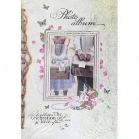 Ditipo Fotoalbum Retro rámček s párom s kufre B4 24 x 34 cm