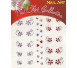 Absolute Cosmetics Nail Art samolepící nálepky na nehty GNS 31 1 aršík