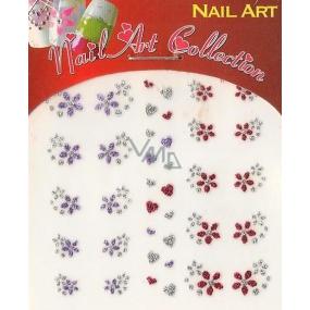 Absolute Cosmetics Nail Art samolepiace nálepky na nechty GNS 31 1 aršík
