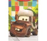 Nekupto Darčeková papierová taška veľká 33 x 26 x 13 cm Cars vianočné 1190 WLGL
