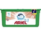 Ariel 3v1 Sensitive gelové kapsle na praní prádla 28 kusů 744,8 g
