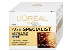 Loreal Paris Age Specialist 65+ vyživující noční krém proti vráskám 50 ml