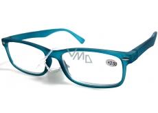 Berkeley Čítacie dioptrické okuliare +1,0 plast tyrkysovo zelené mat 1 kus MC2 ER4040