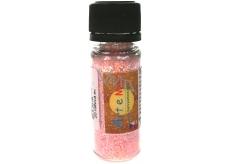Art e Miss Posýpacie glitr pre dekoratívne použitie 20 ružová svetlá 14 ml