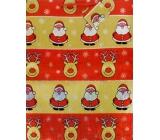 Nekupto Darčeková papierová taška veľká 32 x 26 x 13 cm Vianočné, hologram 035 30 GL