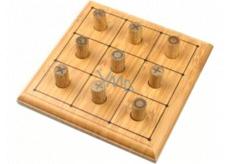 Albi Bambusové minihry Piškvorky spoločenská hra pre 2 hráčov
