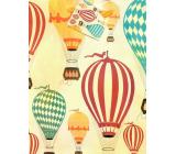 Nekupto Darčeková papierová taška 18 x 23 x 10 cm Balóny 1877 01 ÚFM