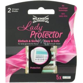 Wilkinson Lady Protector 5 náhradných hlavíc