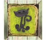 Bohemia Natur Kočka ručně vyráběné toaletní mýdlo v krabičce 100 g