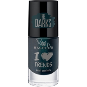 Essence I love Trends The Darks lak na nehty 18 Happy New Green 8 ml