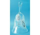 Zvonek skleněný 11,5 cm