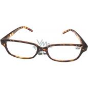 Berkeley Čtecí dioptrické brýle +2,0 plastové hnědé tygrované 1 kus MC2125