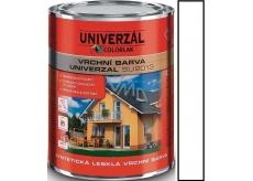 Colorlak Univerzal SU2013 syntetická lesklá vrchná farba Biela 0,35 l