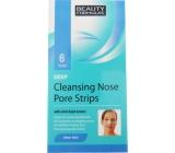Beauty Formulas Deep čistiace náplasti na nos 6 kusov