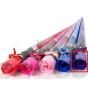 NeoCos Mýdlová růže v celofánu fialová 4 g