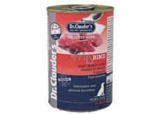 Dr. Clauders Hovädzie mäso kompletné superprémiové krmivo pre dospelých psov obsahuje probiotiká - látky pre dobré trávenie 400 g