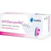 Exeltis MYOovunelle vaginálne čapíky s obsahom myo-inozitolu s pH 6, vytvára optimálne podmienky pre napomáhajúci oplodnenie vajíčka 3 kusy