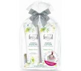 Fenjal Miss Summer Dream sprchový gél pre ženy 200 ml + telové mlieko 200 ml + šatku 1 kus, kozmetická sada