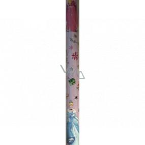 Ditipo Darčekový baliaci papier 70 x 200 cm Vianočný Disney Princezné ružový