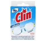 Clin čistící ubrousky na brýle 25 g