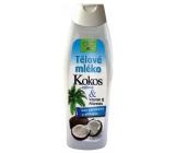 Bione Cosmetics Kokos & Vitamin E Allanolin výživné tělové mléko 500 ml