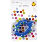 First Steps Chrastítko zvířátko modré PS182