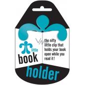 If Little Book Holder Držiak na knihu Modrý 75 x 2,5 x 75 mm