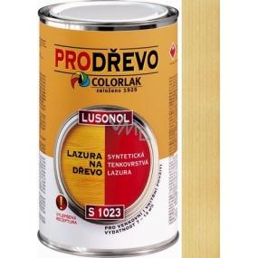 Colorlak Lazúra Lusonol S1023 synteticná penetračný lazúra Bezfarebný 2,5 l