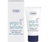 Ziaja Yego Men SPF 10 Sensitive hydratační krém 50 ml