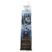 Disney Frozen Olaf MilkiMix mliečne slamku zmes na prípravu nápoja s príchuťou čokolády 5 slamiek po 30 g