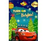 Ditipo Disney Dárková papírová taška pro děti Cars+stromky 26,4 x 12 x 32,4 cm L