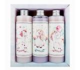 Bohemia Gifts Jednorožec XL sprchový gél 250 ml + šampón na vlasy 250 ml + kúpeľová pena 250 ml, pre deti kozmetická sada