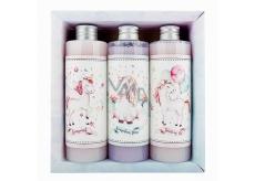 Bohemia Gifts & Cosmetics Jednorožec XL sprchový gél 250 ml + šampón na vlasy 250 ml + kúpeľová pena 250 ml, pre deti kozmetická sada