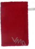 Froté žinka na kúpanie s pútkom rôzne farby 21 x 13 cm 1 kus
