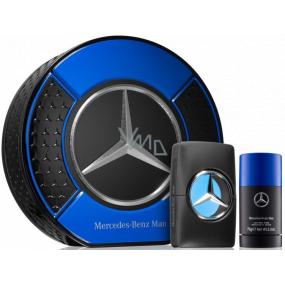 Mercedes-Benz Man toaletná voda pre mužov 50 ml + deostick 75 ml, darčeková sada