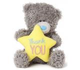 Me to You Medvedík plyšový s hviezdičkou a nápisom Ďakujem 10,5 cm