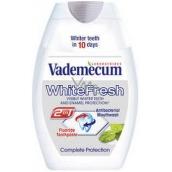 Vademecum White Fresh 2v1 zubná pasta a ústna voda v jednom 75 ml
