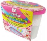151 Interior Dehumidifier Rose odstraňovač vlhkosti s osviežovačom vzduchu 300 g