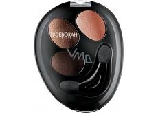 Deborah Milano Trio Hi-Tech Eyeshadow oční stíny 13 Nude Beige 4,2 g
