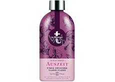 T: BY Tetesept Auszeit Odpočinek růžová orchidej a ylang-ylang pěna do koupele 420 ml