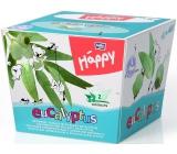 Bella Happy Baby Eucalyptus hygienické kapesníky 2 vrstvé 80 kusů